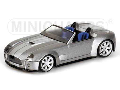 Ford: Shelby Cobra Conversível (2004) - Prata - 1:43