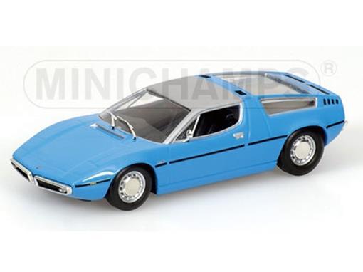 Maserati Bora (1972) - Azul - 1:43