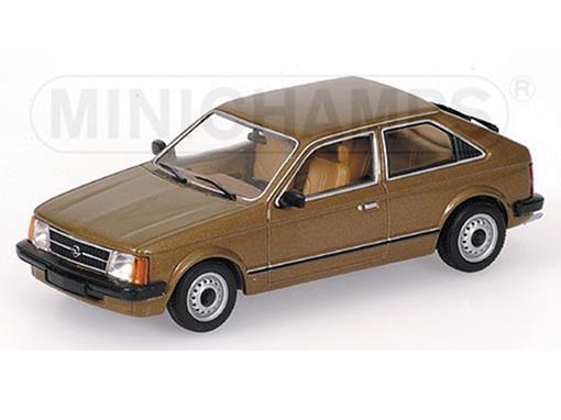 Opel: Kadett (1979) - Marrom Metálico - 1:43
