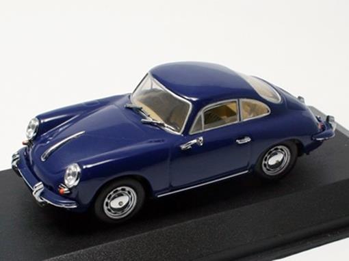 Porsche: 356 C Coupé (1963-65) - Azul - 1:43