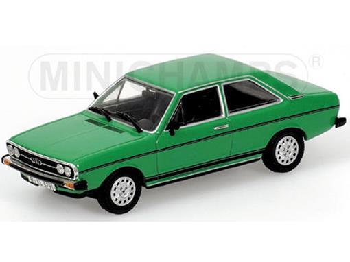 Audi: 80 GT (1972) - Verde - 1:43