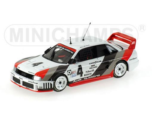 Audi: 90 Quattro - Hans-Joachim Stuck #4 - IMSA GT (1989) - 1:43