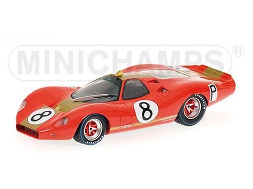 Ford: P68 F3L - Alan Mann Racing - Rodriguez / Irwin - 1000 km Nurburgring 1968 - 1:43