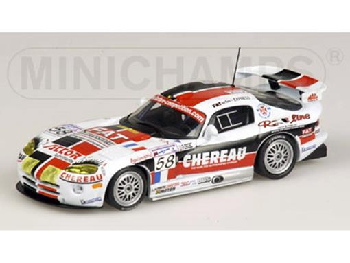 Chrysler: Viper GTS-R - Bouchut / Belloc / Monteiro - Team Larbre - Le Mans 24 hrs 2001 - 1:43