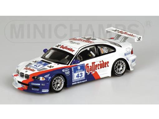BMW: M3 GTR  #43 - 24H Nurburgring (2003) - 1:43