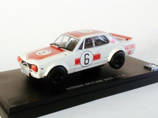 Nissan: Skyline 2000 GT-R (1971) - Branco - 1:43