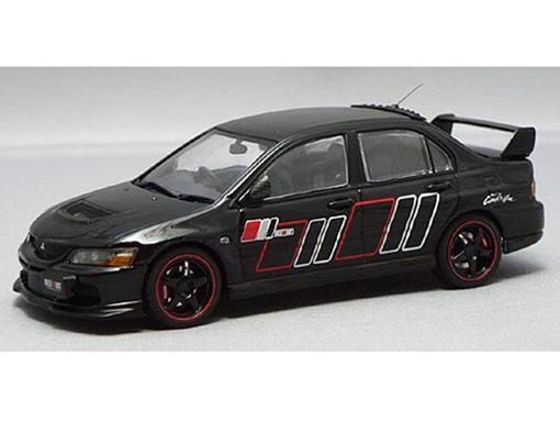 Mitsubishi: Lancer Evolution IX Ralliart - Preto - 1:43