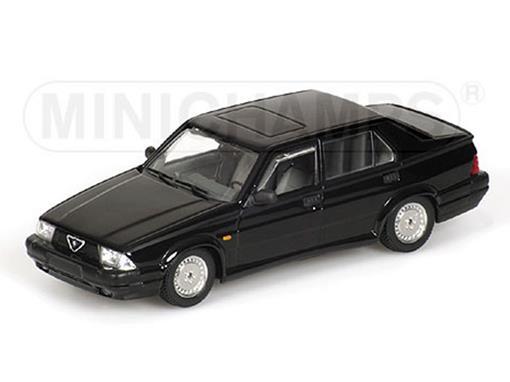 Alfa Romeo: 75 3.0 V6 America (1989) - Preto - 1:43