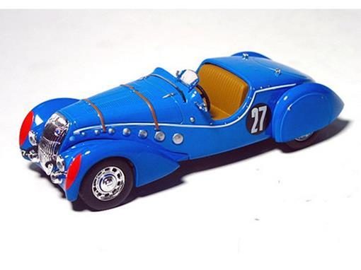 Peugeot: 302 Darl Mat #27 - Azul - 1:43