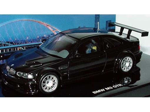 BMW: M3 GTR (Flavours of Asia) - Preto - 1:43