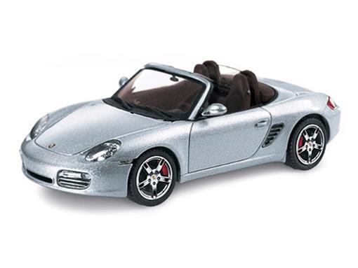Porsche: Boxster S (987) Conversível - Prata - 1:43