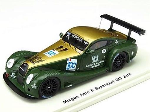 Morgan Aero: 8 Supersport GT3 (2010) - Verde / Dourado - 1:43