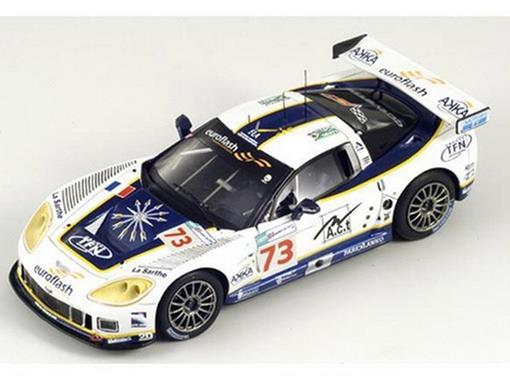 Chevrolet: Corvette C6-R - n73 - Blanchemain / Goueslard / Pasquali - Luc Alphand Aventures - Le Mans 2008 - 1:43