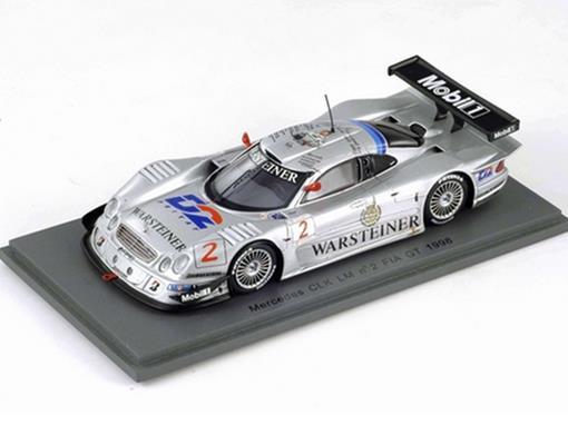 Mercedes Benz: CLK n2 - Klaus Ludwig - FIA GT Le Mans 1998 - 1:43