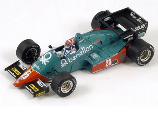 Alfa Romeo: 184T n23 - Eddie Cheever - French GP 1984 - 1:43