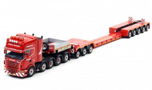 Scania: R6 Topline 10x4 com prancha Euro Px -