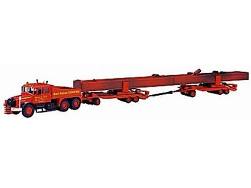 Scammell: Contractor com 2 Dyson Trailers and Crane Girder Load - Siddle C. Cook - 1:50