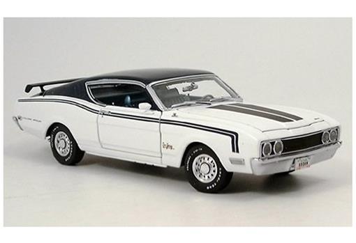 Ford: Mercury Cyclone (1969) - Branco - 1:24