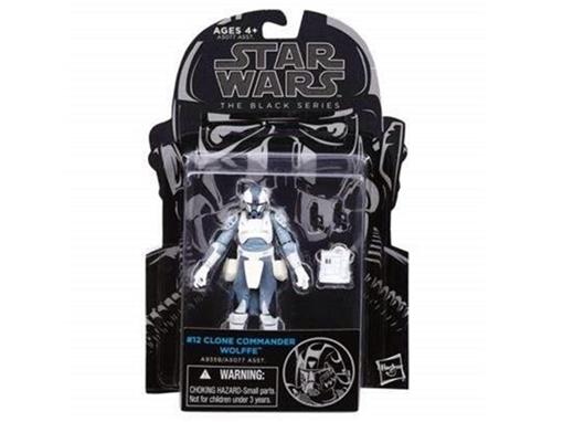 Boneco Clone Commander Wolffe - #12 - Star Wars - The Black Series - 3.75
