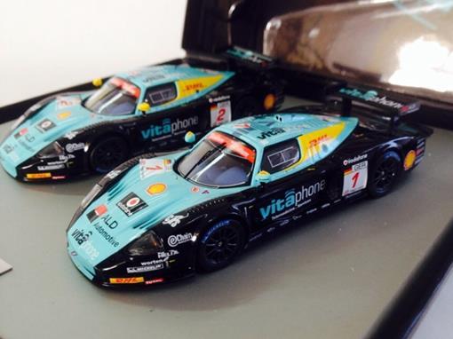 Set: Maserati MC12 - Team Vitaphone Racing - 1:43