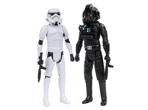 Bonecos TIE Pilot / Stormtrooper - Star Wars Rebels - 3.75