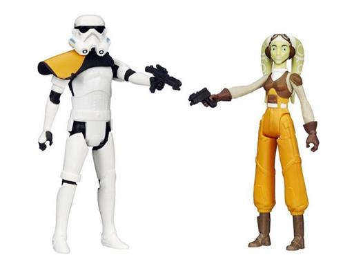 Bonecos Stormtrooper / Hera Syndulla - Star Wars Rebels - 3.75