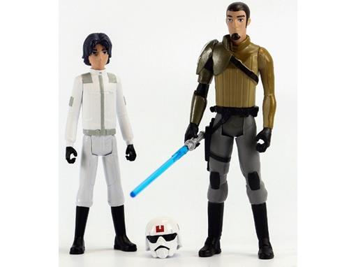 Bonecos Ezra Bridger / Kanan Jarrus - Star Wars Rebels - 3.75
