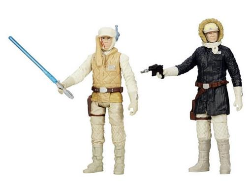 Bonecos Luke Skywalker / Han Solo - Star Wars Rebels - Episode V - 3.75