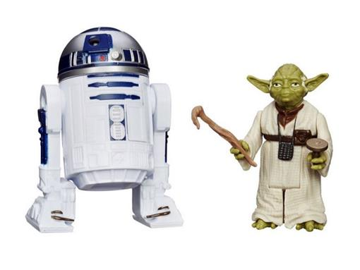 Bonecos R2-D2 / Yoda - Star Wars Rebels - Episode V - 3.75