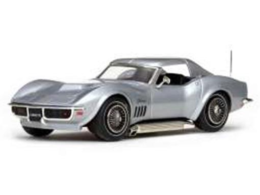 Chevrolet: Corvette Coupe (1968) - Prata - 1:43