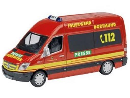 Mercedes Benz: Sprinter 2 - Resgate/ Bombeiros - HO