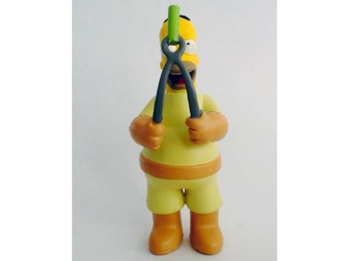 Boneco Homer Simpson com Ferramenta - The Simpsons - Multikids