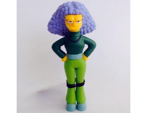 Boneco Selma Bouvier - The Simpsons - Multikids