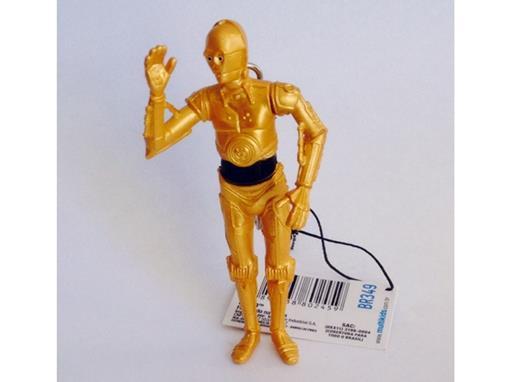 Chaveiro Colecionável Stars Wars - C 3PO - Multikids Serie 1