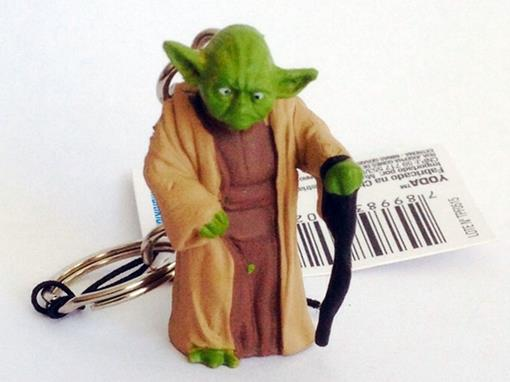Chaveiro Colecionável Stars Wars - Yoda - Multikids Serie 1