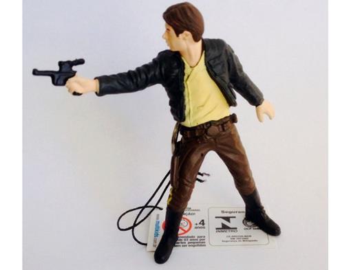 Chaveiro Colecionável Stars Wars - Han Solo - Multikids Serie 1