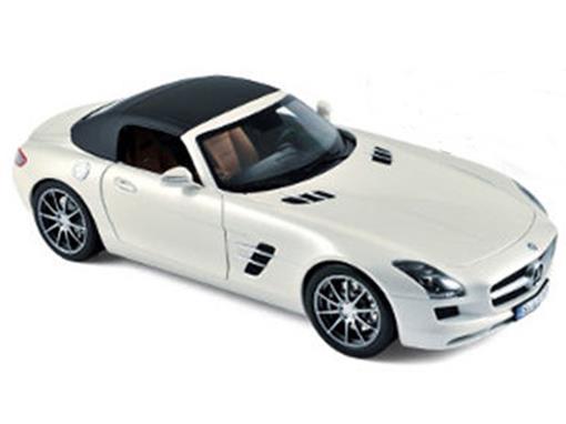 Mercedes Benz: SLS AMG Roadster (2011) - Branca - 1:18