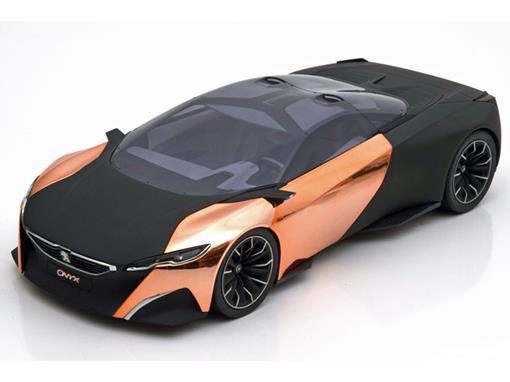 Peugeot: Concept Car Onyx Paris Auto Show 2012 - Preto - 1:18