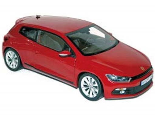 Volkswagen: Scirocco (2008) - Vermelho - 1:18