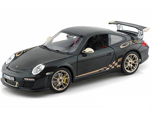 Porsche 911 GT3 RS (2010) - Cinza - 1:18