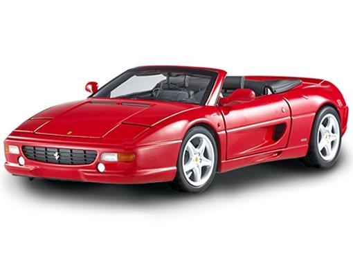 Ferrari: F355 Spider - Vermelha - 1:18