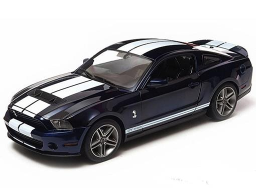 Ford: Shelby GT500 (2010) - Azul - 1:18 - Greenlight
