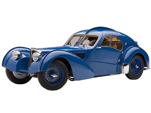 Bugatti: 57S Atlantic (1938) - Azul - 1:18