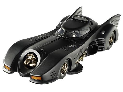 Batmóvel: Batman Returns (1992) - Preto  - 1:18
