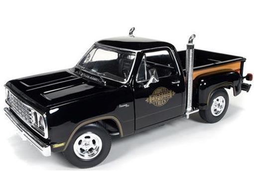 Dodge: Pickup Midnite Express (1978) - Preta - 1:18