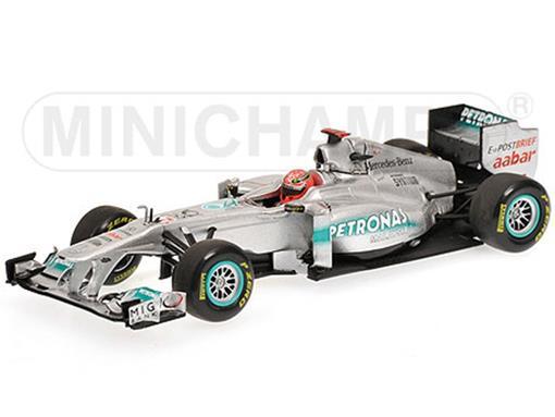 Mercedes GP Petronas: F1 Team MGP W02 - M. Schumacher (2011) - 1:43