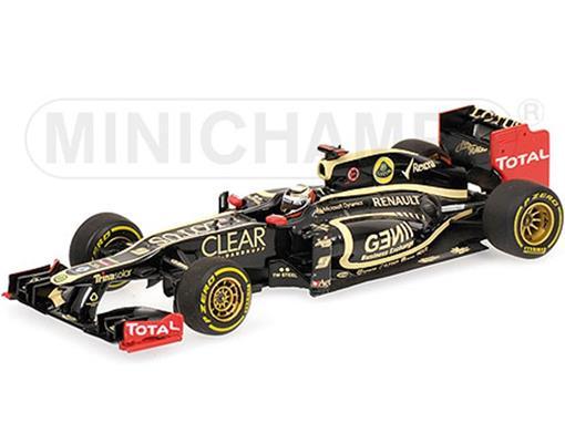 Lotus F1: Team Lotus Renault E20 - K. Raikkonen (2012) - 1:43