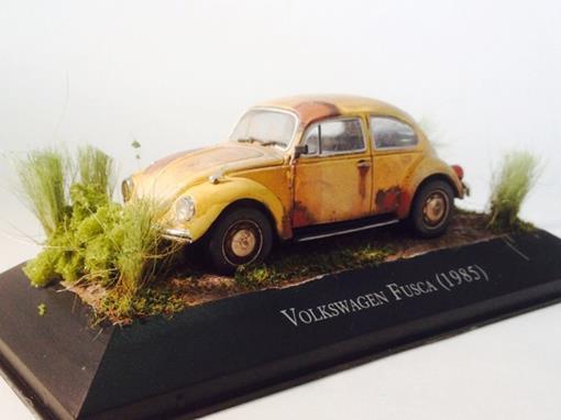 Diorama: Volkswagen Fusca (1985)
