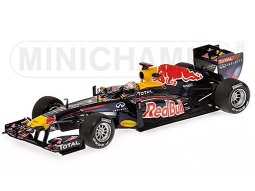 Red Bull Racing: Renault RB7 - Sebastian Vettel - Winner Malaysian GP (2011) - 1:43