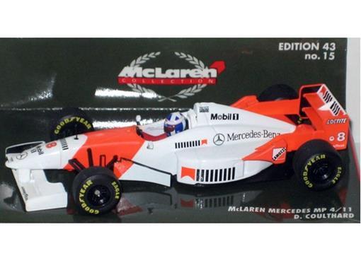 McLaren Mercedes: MP4/ 11 - David Coulthard - 1:43